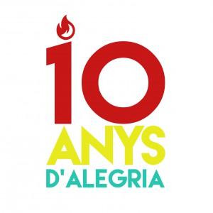10ANYSD'ALEGRIA logo
